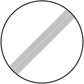Τέλος όλων των τοπικών απαγορεύσεων οι οποίες έχουν επιβληθεί με απαγορευτικές πινακίδες στα κινούμενα οχήματα.