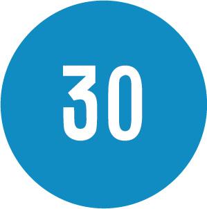 Υποχρεωτική ελαχίστη ταχύτητα που αναγράφεται με λευκούς αριθμούς σε (π.χ. 30) χλμ/ώρα.