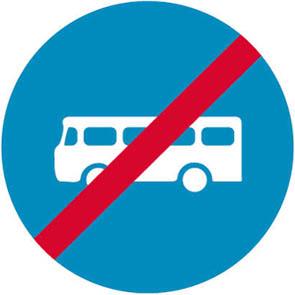 Τέλος αποκλειστικής διέλευσης Λεωφορείων ή Τρόλλεϋ.