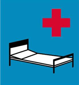 Νοσοκομείο (για αποφυγή ή μείωση οποιουδήποτε μη αναγκαίου θορύβου).