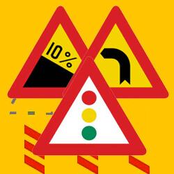 Πινακίδες αναγγελίας κινδύνου